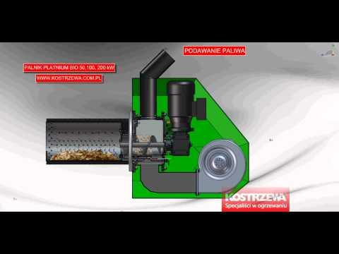 PALNIK NA PELET 200 kW KOSTRZEWA  пелетни горелки, gorlik na pelete, kotle na pelete