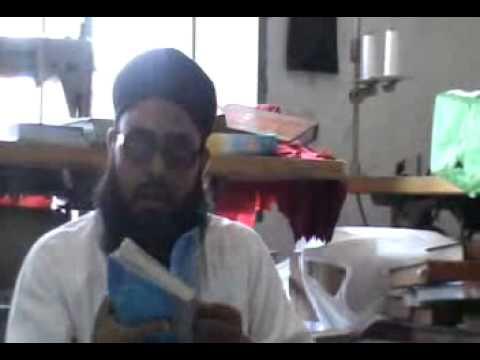Mnazra  sma'a slat-o-slam ind qabar ul Nabi(s a a w) by Maulana Muhammad Nwaz Sahib (Faisalabadi)p 1