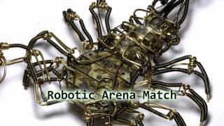 Royalty Free Robotic Arena Match:Robotic Arena Match