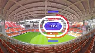 2018 FIFA World Cup: Ekaterinburg Arena (360 VIDEO) - RUSSIATODAY