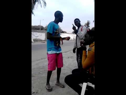 the comic fight hahahahah Angola - Namibe