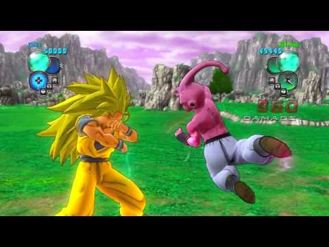 Dragon Ball Z Ultimate Tenkaichi - SSJ3 Goku Vs Kid Buu