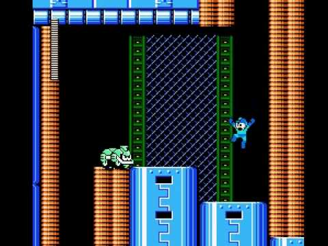 Mega Man 6 - Tomahawk Man Stage Perfect Run (No Weapons)
