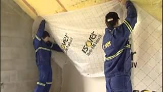 Isover zateplení šikmé střechy HD kvalita