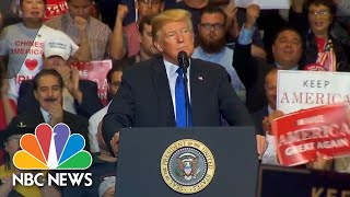 Watch live: President Trump holds campaign rally in Las Vegas - NBCNEWS