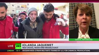 'Situation in E. Ghouta is catastrophic' – Red Cross spokesperson - RUSSIATODAY