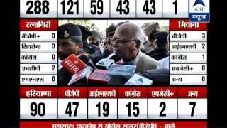 Advani bats again for BJP-Shiv Sena alliance - ABPNEWSTV
