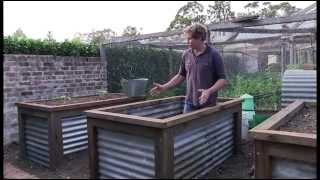 Chris Francis Presents A Method Of Constructing A Group Of Raised Vegie  Beds.   YouTube