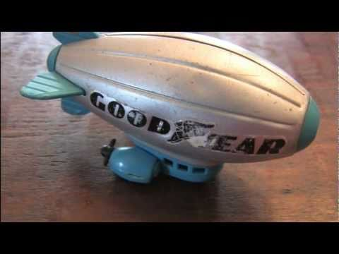CGR Garage - GOOD YEAR BLIMP toy review