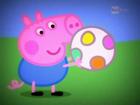 Peppa Pig in italiano - Palla al centro - Episodio completo