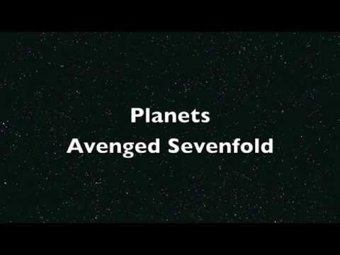 Avenged Sevenfold Planets Lyric Video