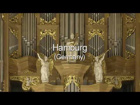 Léon Berben plays Vincent Luebeck on Arp Schnitger organs