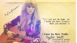 Taylor Swift I Knew You Were Trouble Instrumental Remake Lyrics Youtube