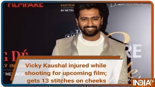 Vicky Kaushal injured while shooting for horror film; gets 13 stitches on cheeks - INDIATV