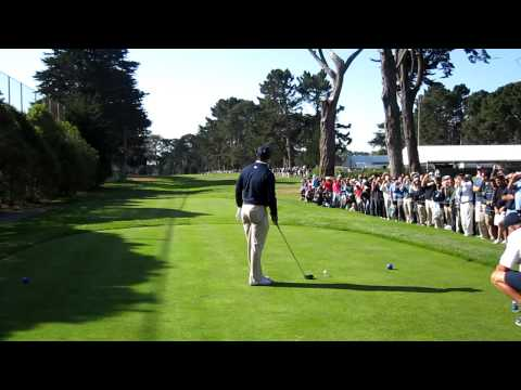 Tiger Woods and Michael Jordan at Harding Park, San Francisco