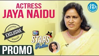 Actress Jaya Naidu Exclusive Interview - Promo || Soap Stars With Anitha #27 - IDREAMMOVIES
