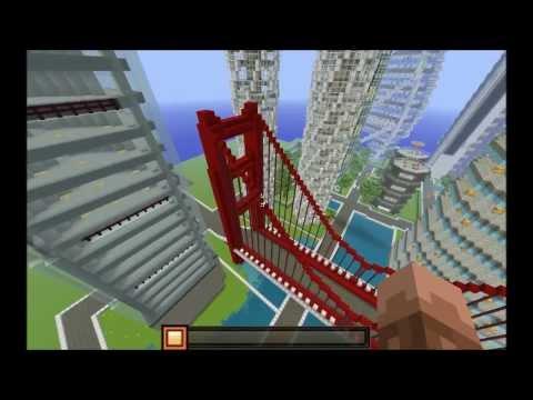 Related video - Minecraft construction de fou ...