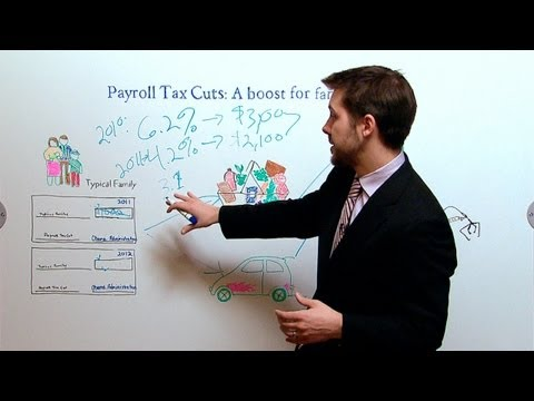 White House White Board: Payroll Tax Cuts