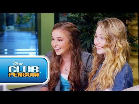 Club Penguin: Sabrina Carpenter on Music Jam 2014 - Disney Channel`s Game On