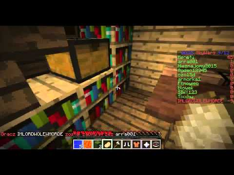 Minecraft mini gry: SkyWars