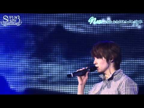 [SJF Vietsub + kara] Super Junior - Super Show 3 in Japan - In my dream (OFFICIAL)
