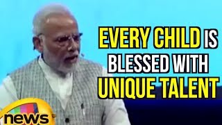 Every Child Is Blessed With Unique Talent Says Pm Modi At Pariksha Par Charcha | MangoNews - MANGONEWS