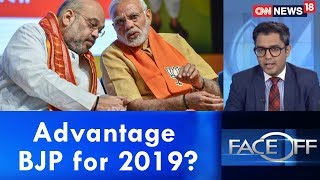 Opposition in tatters = Advantage BJP for 2019? | Face Off | CNN-News18 - IBNLIVE