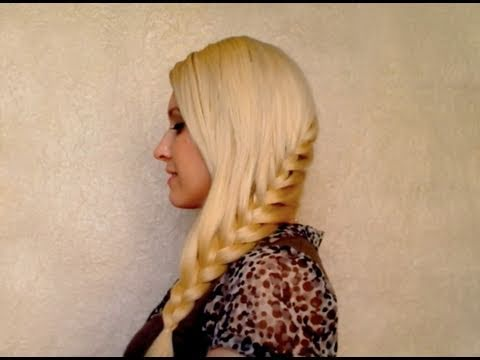 French braid tutorial: stylish everyday hairstyle for long hair for school work party Spring 2011