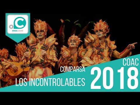 Sesión de Cuartos de final, la agrupación Los incontrolables actúa hoy en la modalidad de Comparsas.