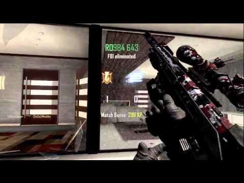Black Ops 2 Sick Trickshot (Free clip to edit)