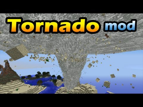 Minecraft Mods Tornado HD