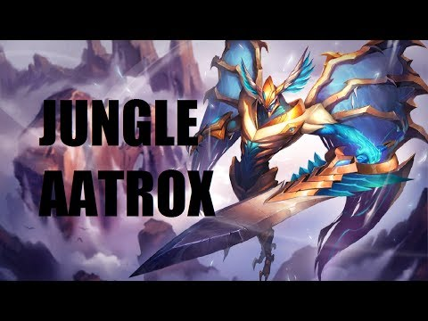 League of Legends - Jungle Aatrox - Full Game Commentary