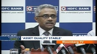 Earnings Edge- Asset Quality Stable: HDFC Bank - BLOOMBERGUTV