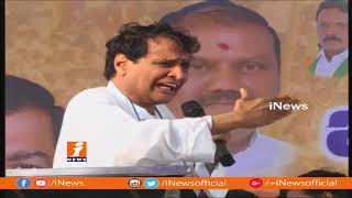 Union Minister Suresh Prabhu Praises Central Govt At TBJP Janachaitanya Yatra In Warangal | iNews - INEWS