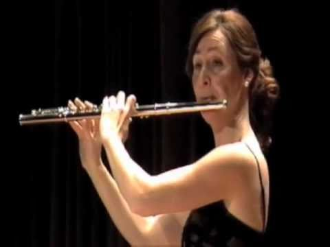 Poulenc Sonata for Flute and Piano, mvt. 1