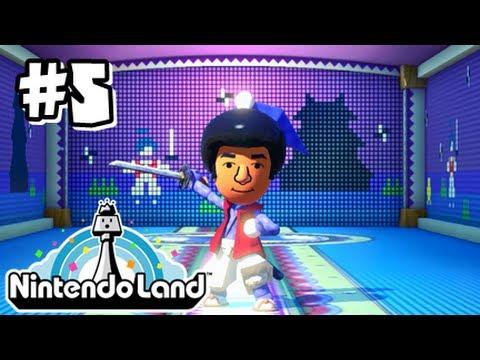 Nintendo Land Wii U - Part 5 - Takamura's Ninja Castle