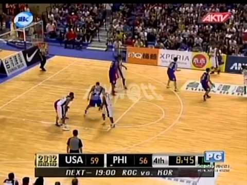 2012 JONES CUP Gold Medal Match | Pilipinas Vs USA part 6