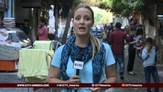 See the news report video by ISIL militants surround Kobane on three fronts