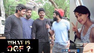 What is OGF ? | Airtel 4G Sasha Chettri | Aadi Saikumar | Karthik Raju | Saikiran Adivi | #OGF - IGTELUGU