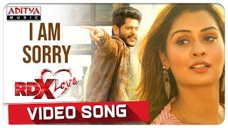 I Am Sorry Video Song || RDXLove Songs || Payal Rajput, Tejus Kancherla || Radhan - ADITYAMUSIC