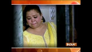 Bharti Singh had an emotional breakout at an old age home - INDIATV