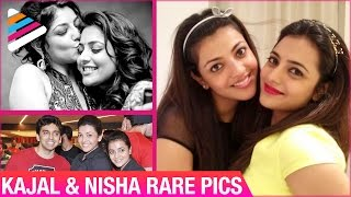 Kajal Aggarwal & Nisha Aggarwal Rare Pics | Unseen Pics | Telugu Filmnagar - TELUGUFILMNAGAR