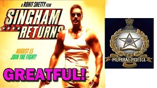 Ajay Devgan and Rohit Shetty express their gratitude towards Mumbai Police | Bollywood News