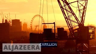 UK 🇬🇧 construction giant collapses - ALJAZEERAENGLISH