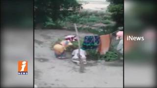 Daughter Brutally Beats Old age Father In Uttarpradesh | iNews - INEWS