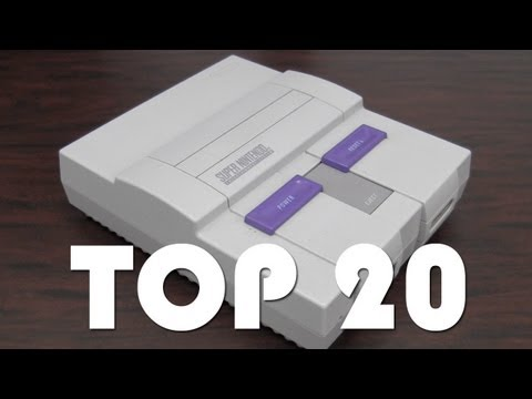 CGRundertow TOP 20 SNES GAMES PART TWO Video Game Feature