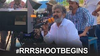 RRR Movie First Shot Making Video | #RRRShootBegins | Ram Charan | Jr NTR | TFPC - TFPC