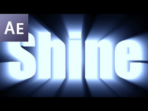 After Effects Tutorial: Shine Through Text Effect  -HD- -yFRojuRMs-4