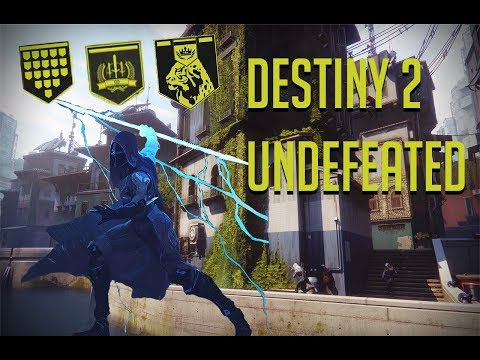 First Undefeated in Destiny 2