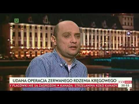 Doktor Paweł Tabakow i Dariusz Fidyka opowiadają o swojej historii.